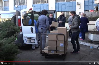 Прилог РТВКВ – Донација Дечијег СОС села ОБ Студеница