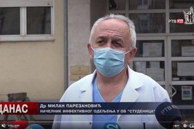 Teška klinička slika svih hospitalizovanih zbog korone